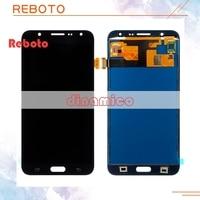 Reboto Adjust BrightnessFor Samsung Galaxy J7 Lcd Display Replacement J7 J700F J700M J700H Lcd Screen With