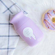 Usb Charging Mini Milk Bottle Humidifier Mist Generator Portable Mini Air Humidifier For Car Nebulizing Diffuser Three Colors