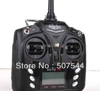 Walkera master cp parts 7ch Transmitter Devo 7E Walkera Devo 7E walkera master cp parts free shipping with tracking фото