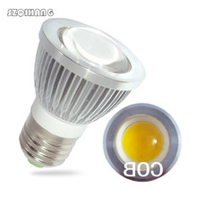 цена на E27 GU5.3 GU10 MR16 LED COB Spotlight Ultra Bright 3w 5w 7w 10w Spot Light Bulb high power lamp AC DC 12V or 85-265V