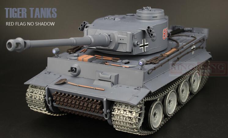 все цены на  Henglong1/16 Germany Main Battle Tank Tiger I Tank model blue Ultimate metal version with 2.4G RC Smoke Sound Metal Gear Tracks  онлайн