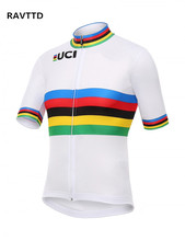 UCI Cycling Jersey Bike Short Sleeve Bicycle Cycling Clothing  Wear/ Bicycle Bike Clothes