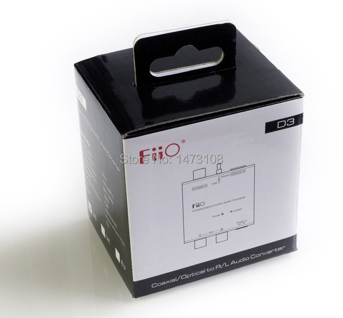 FiiO D03K Digital Audio Analog Converter(Free shipping via post)