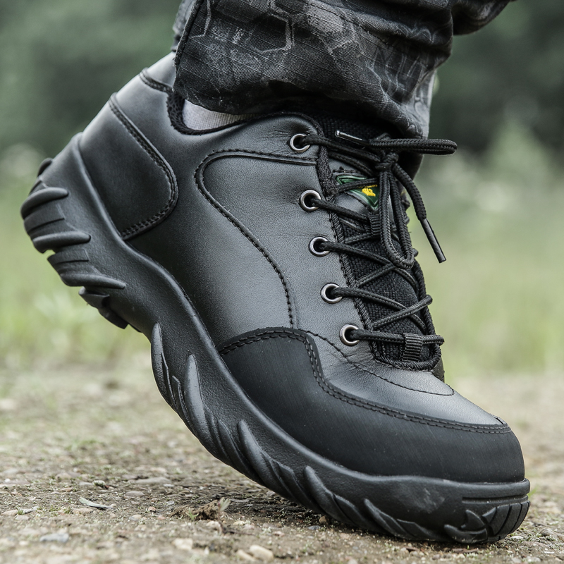 Outdoor Sport Climbing CS Boot Men Hiking Shoes Black Military Tactical Boots Army Combat Shoes Mountain Wandelschoenen Heren