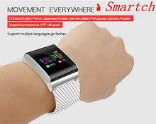 Smartch X9 Pro Цвет ЖК-дисплей умный Браслет Presión arterial Кислорода Монитор сердечного ритма дистанционного управления вызова SMS оповещения для iOS и Android
