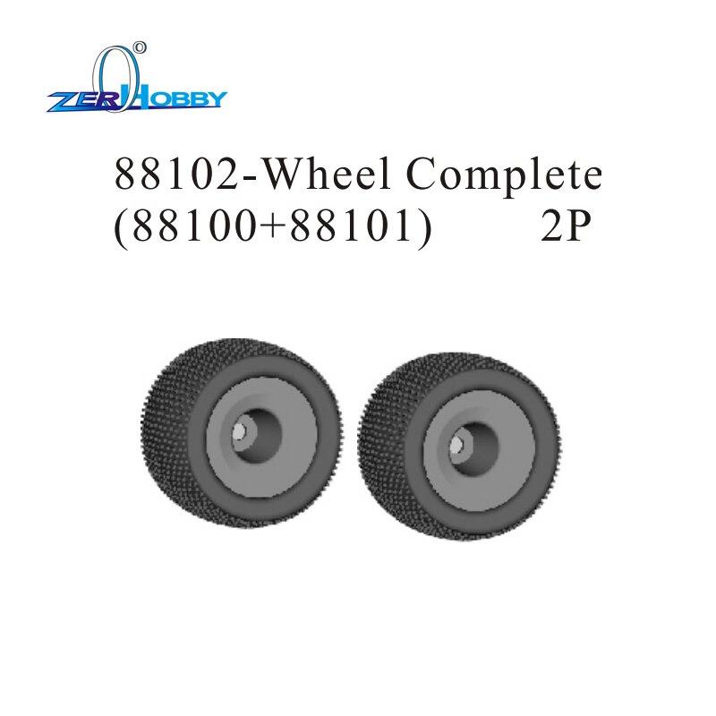 Hsp de course rc accessoires de voiture pièces de rechange pièce de rechange no 88102 roue ensemble complet pour 1/8 échelle hors route truggy 94085