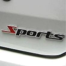 Автомобильные стильные 3D металлические спортивные наклейки, автомобильные аксессуары для hyundai ix35 iX45 iX25 i20 i30 Sonata, Verna, Solaris, Elantra, Accent
