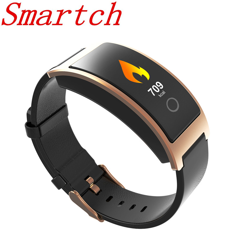 Smartch CK11C Color OLED Screen Smart Wristband Heart Rate Monitor Pedometer Smart Bracelet Watch Fitness Blood Waterproof IP67