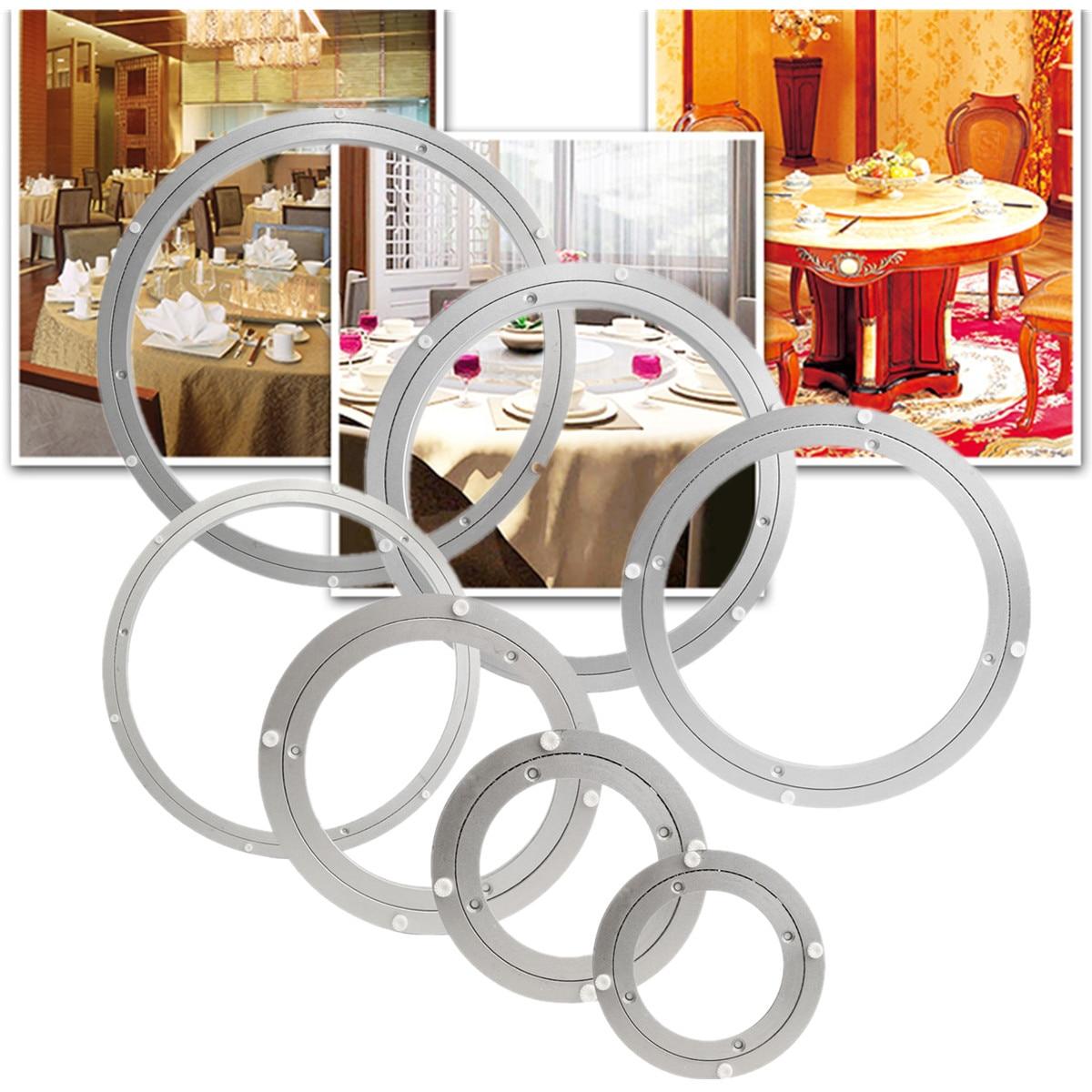 Surface tournante en Aluminium lourde de plateau tournant la Table tournante de configuration facile lisse vissée ou fixe