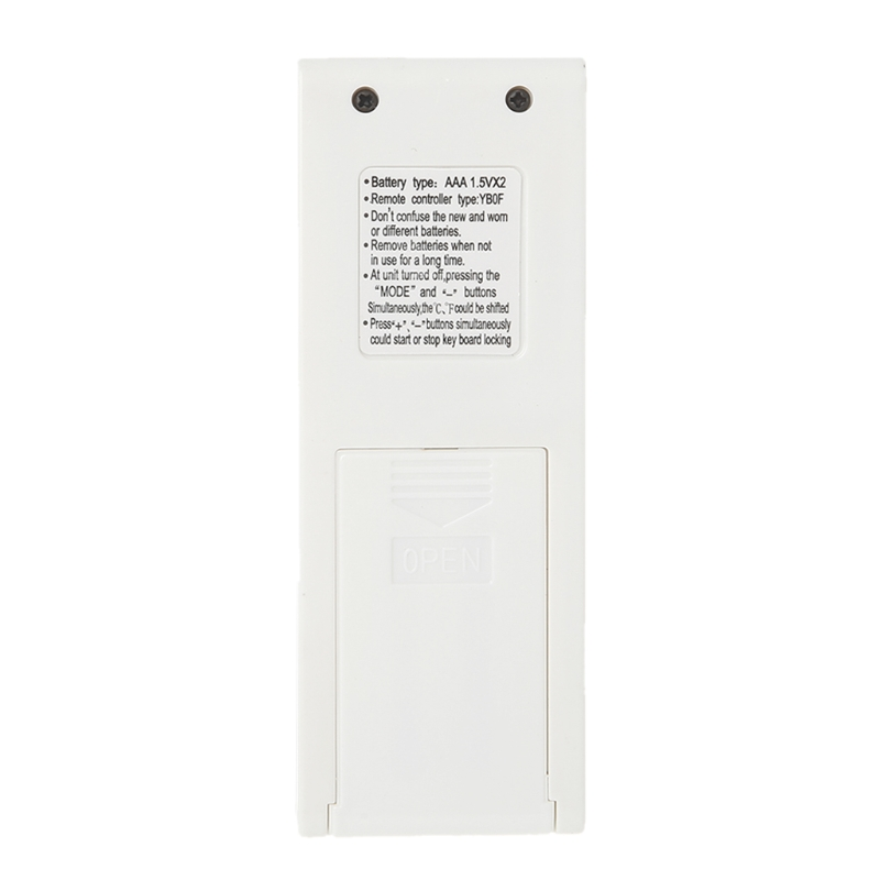 Replacement Air Conditioner Remote Control For Gree YB1FA YB1F2 YBOF2 YBOF
