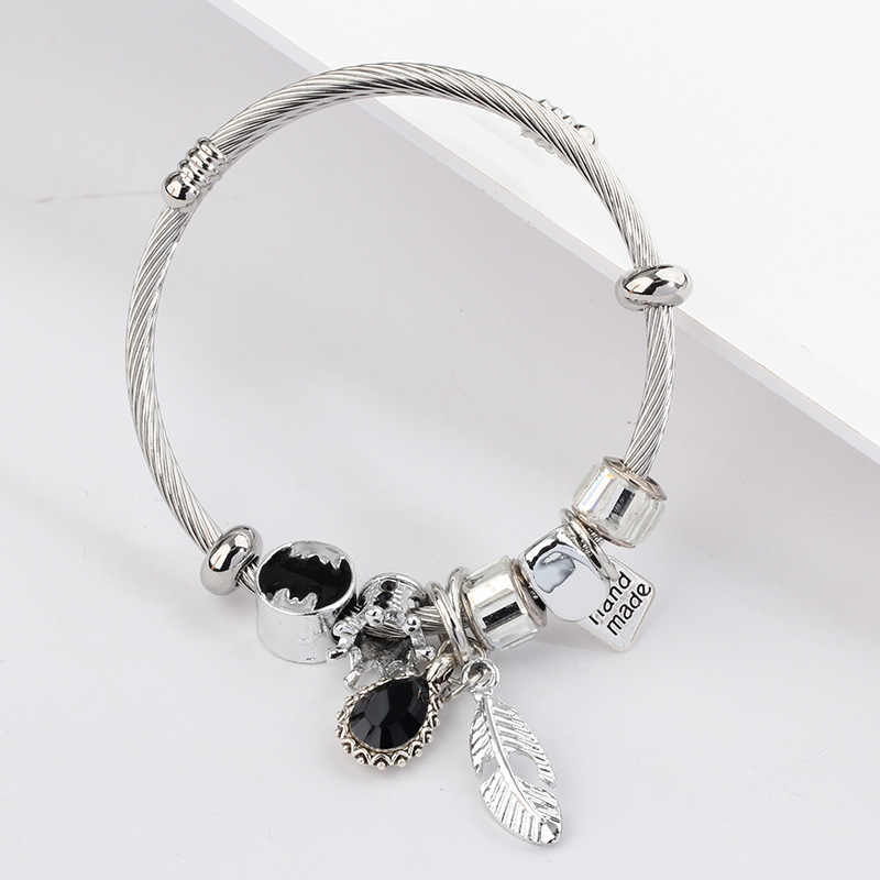 Wholesale New Design Fashion Stainless Steel Bracelets Jewelry Classic Cuff Bangles & Bracelet Charm For Women And Girl
