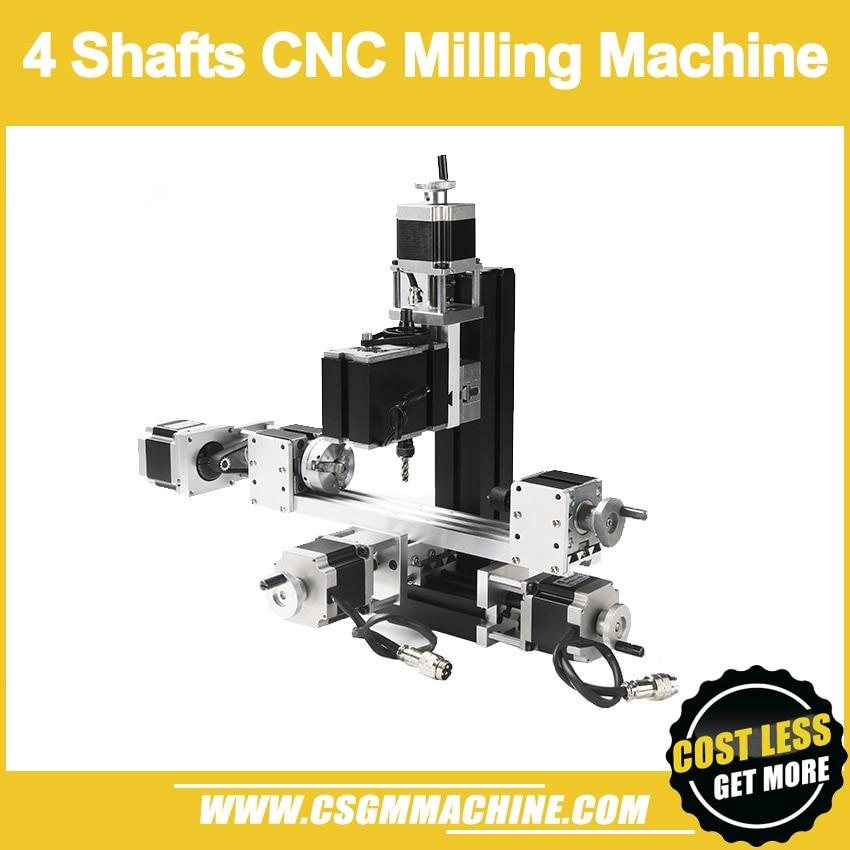 TCZ20005MTF 4 Shafts CNC Milling Machine/Mach3 CNC DIY Drilling & Milling MachineTCZ20005MTF 4 Shafts CNC Milling Machine/Mach3 CNC DIY Drilling & Milling Machine