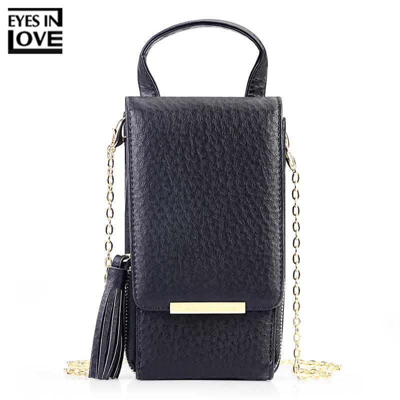 Глаза в любви бренд 2019 Новый кисточкой молнии мини сумки на плечо для Для женщин леди телефон сумка держатель для карт маленькую сумочку кошельки купить на AliExpress