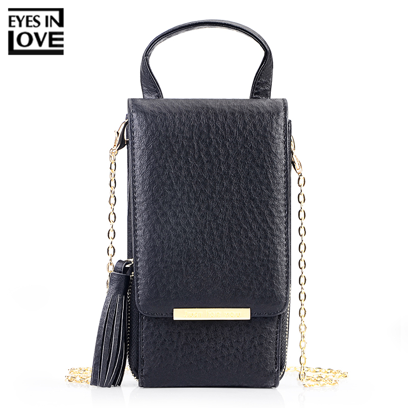 9c47cc034343 ... New Tassel Zipper Mini Shoulder Bags For Women Lady Messenger Phone.  Mouse over to zoom in