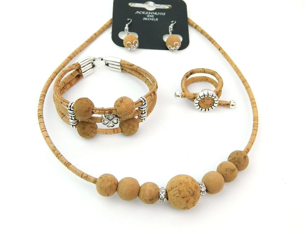 Aliexpress.com : Buy MB Cork Portugal Cork Jewelry Set
