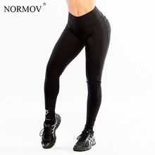 Women Push Up Leggings Polyester Fitness Legging Large Size Black Slim Jeggings High Waist Leggings Trousers Women