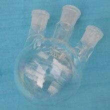 Three-necks quartz flask, Laboratory equipment