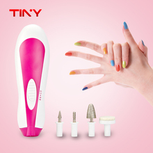 TINY Foot Care Tool manicure and pedicure equipment Callus Skin Remover Nail Art tools Electric Drill File Buffer Foot Massager