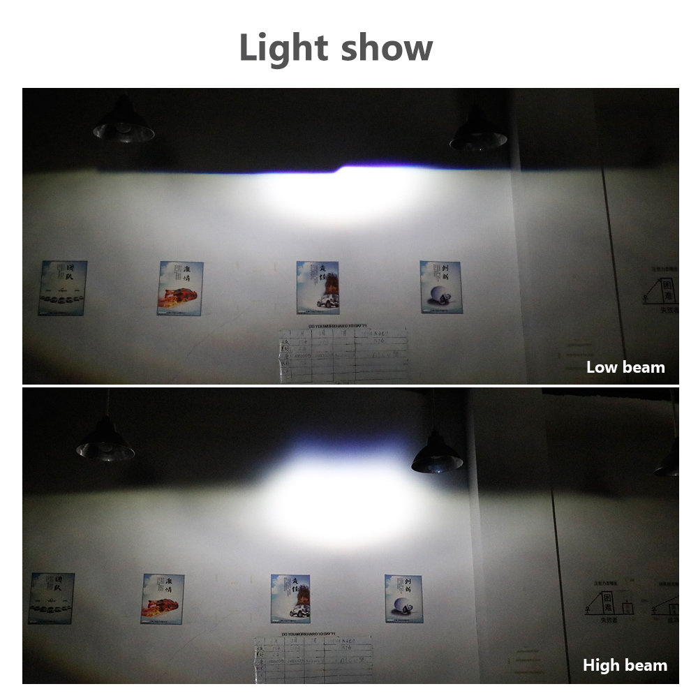 Sanvi 2.5 '' 35 W 5500 K Bi LED Projektör Lens Far Merhaba Düşük - Araba Farları - Fotoğraf 6