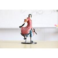 Naruto Anime Uchiha Itachi Reincarnation Crow Illusory Akatsuki Sasuke Cartoon Action Figure Toys 17cm PVC Collection