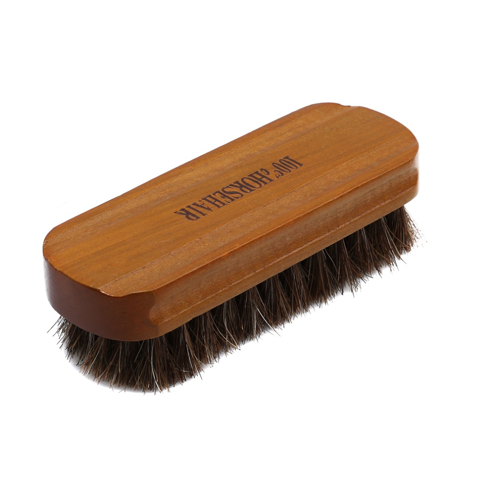High quality natural leather real horse hair soft - Natural horse hair interior upholstery brush ...