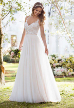 Robe De Mariage Lace Wedding Dress 2019 Sexy V NApplique Bridal Gowns Mariee With Illusion Back