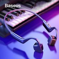 Baseus BC10 Bone Conduction Bluetooth Earphone Wireless IPX5 Waterproof Bluetooth 5.0 Headset Ultralight Hifi Headphone Earbuds