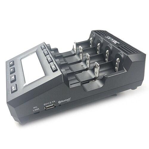 Chargeur de batterie universel Bluetooth SkyRC MC3000 18650 avec analyseur de écran LED pour batterie Ni-MH Lilo NiZn Nicd AAA RC - 5
