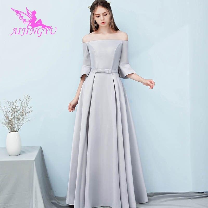 AIJINGYU 2018 Hot Sexy Women's Gown Prom Dress Plus Size Bridesmaid Dress