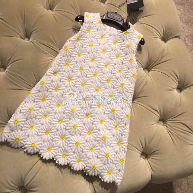 Girl Dress 2016 Spring Summer Daisy Flower Girls Dresses for Party and Wedding Kids Clothes Brand Princess Costume Girl Vestidos