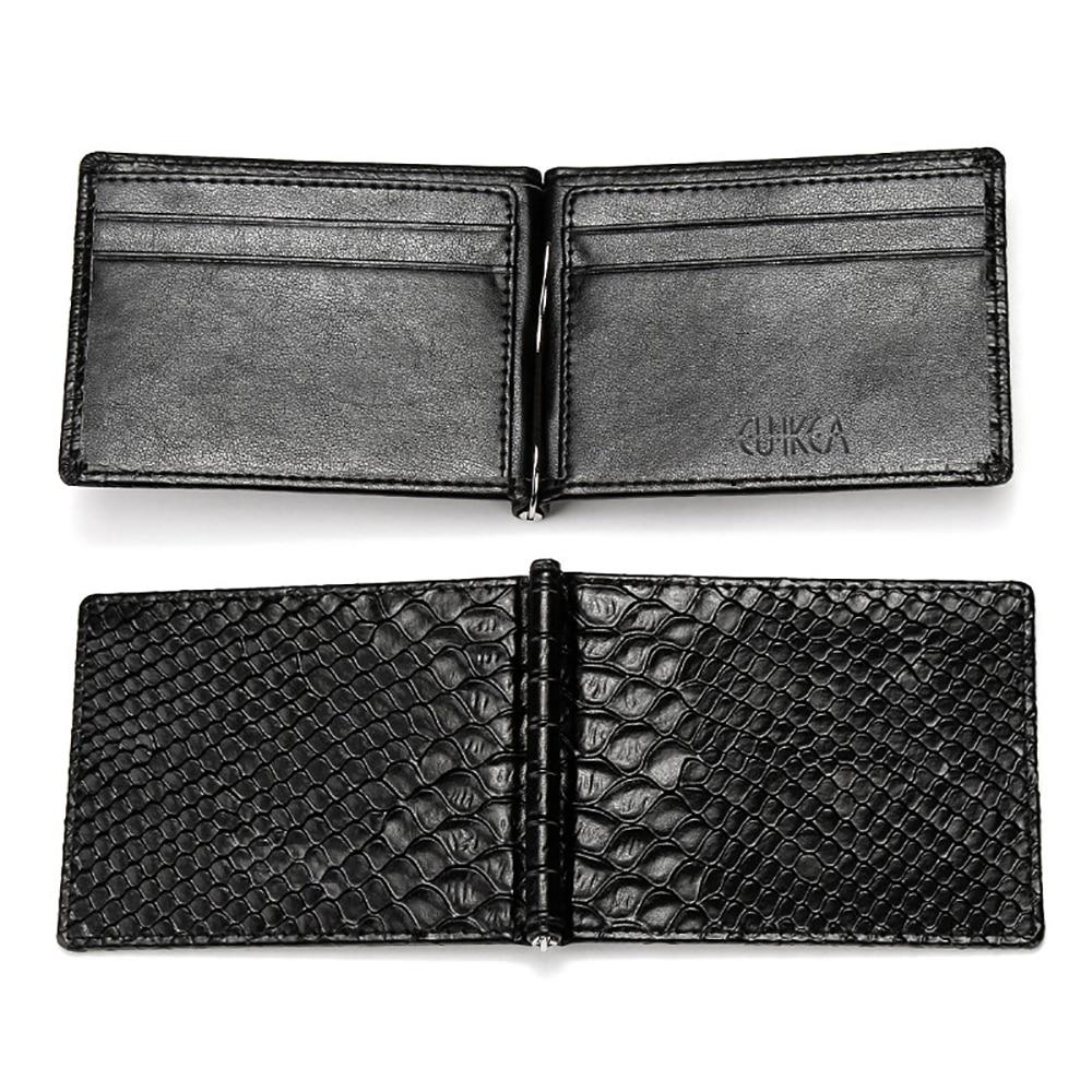 Short Wallet Purse Money-Bag Coin-Pocket Fresh Crocodile Skin-Pattern Snake Korean-Style