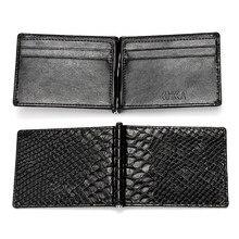 22aa68d491de5 Krokodil Schlange haut Muster Brieftasche PU Leder Männer Kurze Brieftasche  Frische Koreanische Stil Geldbörse Mit Münze