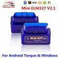 Падение Корабля Супер Мини ELM327 Bluetooth V2.1 ELM327 OBD2 OBDII Код Сканер ELM 327 Работает На Android Крутящий Момент Windows