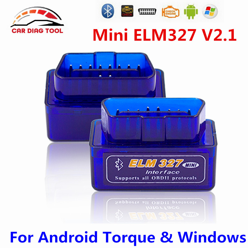 Drop Ship Super Mini ELM327 Bluetooth V2.1 ELM327 OBD2 OBDII Code Scanner ELM 327 Works On Android Torque Windows