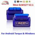 Drop Ship Super Mini ELM327 Bluetooth V2.1 ELM327 OBD2 OBDII Code Scanner ELM 327 Works On Android Torque Windows