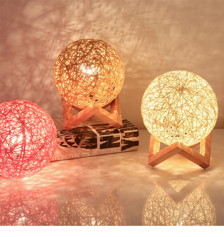 USB night light bulb bedroom bedside creative romantic starry room atmosphere Christmas Valentine 39 s Day gift table lamp in LED Night Lights from Lights amp Lighting