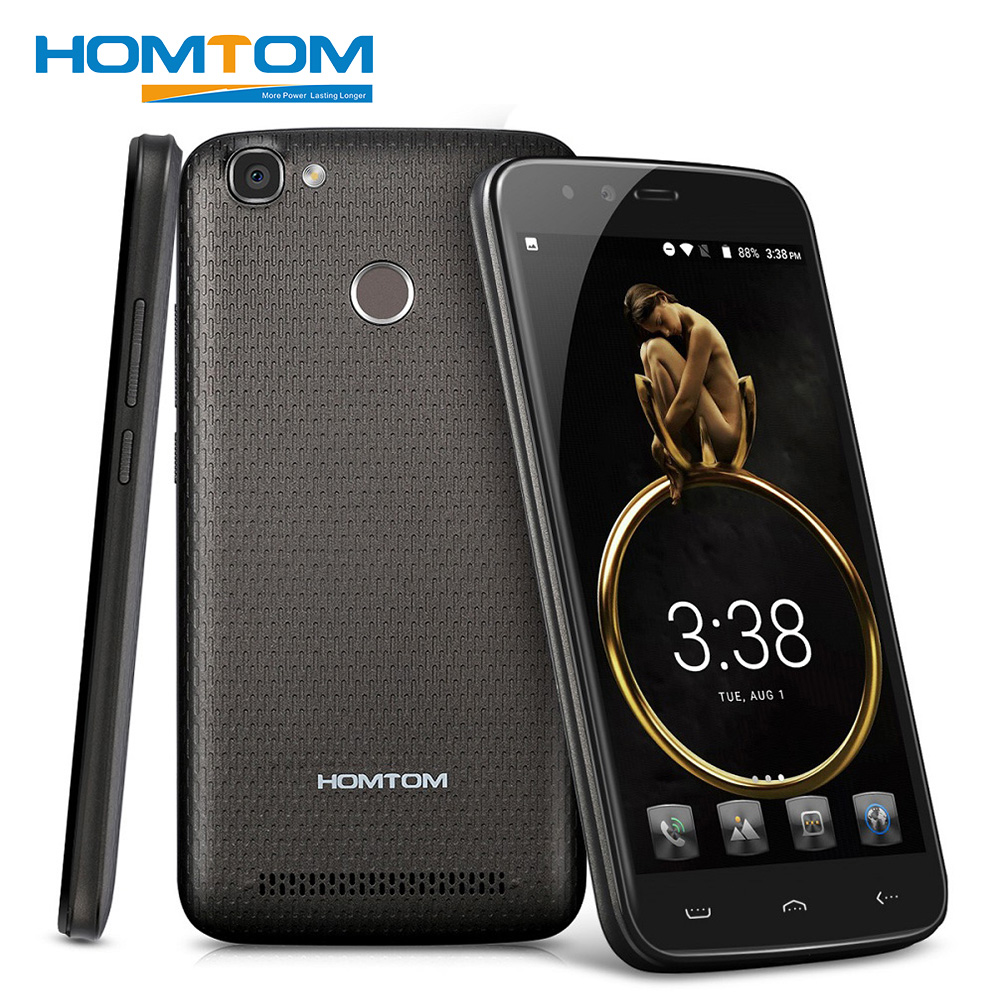 HOMTOM HT50 4G Smartphone 5.5 MTK6737 Quad Core Android 7.0 Mobile Phone 3GB RAM 32GB ROM 5500mAh Battery 13MP Camera Cellphone