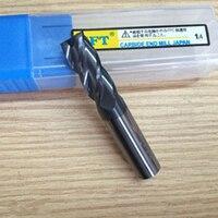Diameter 14mm 4 Blade Carbide End Mills Tungsten Steel Milling Cutter HRC 45 Router Bit CNC