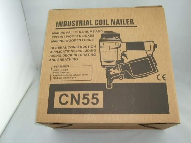 US $180 0  Top quality air Coil Nailer, pneumatic air Coil Nailer,round  coil gun powerful coil gun tool machine Wooden box nailing-in Nail Guns  from