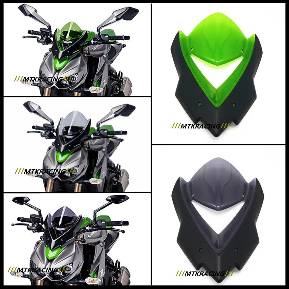 Para Kawasaki Z1000 2014-2017 Parabrisas Z1000 2014 2015  2017 Accesorios de La