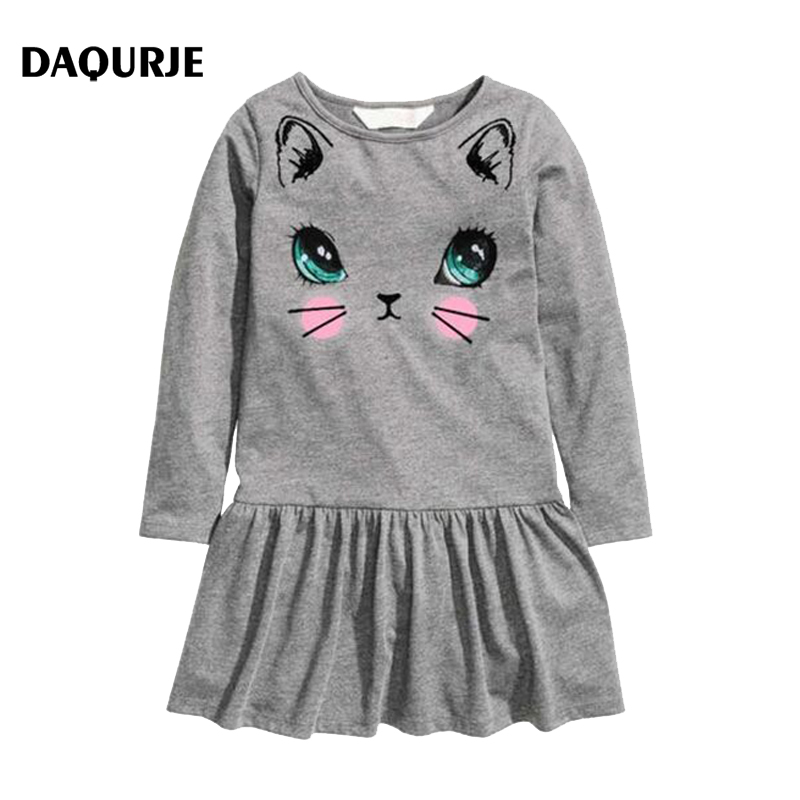 2016 Kids Dresses Girl Party Dress Fashion Spring Baby Girls Clothes Children Vetement Robe Fille Costume Vestido Infantil fashion kids baby girl dress clothes grey sweater top with dresses costume cotton children clothing girls set 2 pcs 2 7 years