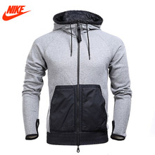 Original Nike men's jacket spring winter Hoodie sports Cloth 802481-091(China)