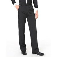 Good Quality Latin Dance Pant For Male Black Color Pocket Trousers Children Professional Sexy Men Boy