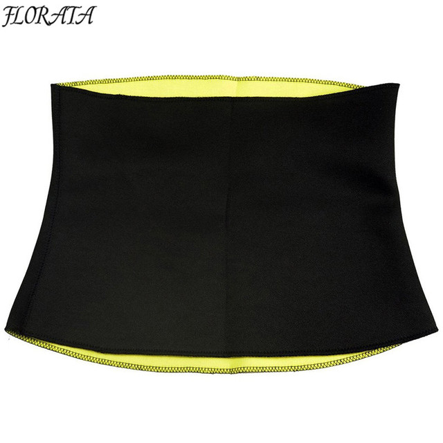 Sweat Belt Neoprene Body Shaper Slimming Belts for Women Waist Trainer Cincher Underbust Corset Trimmer Tummy Control Binder