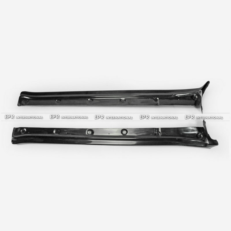 Car Accessories Cayman 987 FRP Fiber Glass Side Skirt Extension Exterior Body Kit For Porsche 2006 2012 EPA Style Car Styling in Front Skirt from Automobiles Motorcycles