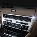 Автомобильный Стайлинг для BMW F07 5 Серия GT внутренняя отделка кондиционер CD панель управления декоративные наклейки чехлы автомобильные акс...