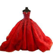 Gown Red Wedding Dresses