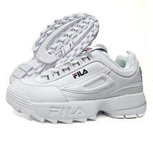 e8225370342 Wit FILA Disruptor II Schoenen Vrouwen Retro Platform Sneakers Mannen  Loopschoenen zapatos de mujer Hoogte Toenemende