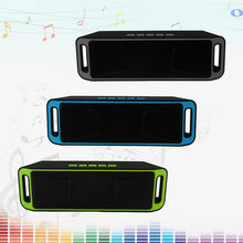 Speaker Mini Portable Wireless Bluetooth Stereo Speakerphone Radio Music Subwoofer Column Speakers with TF FM for Computer(China)
