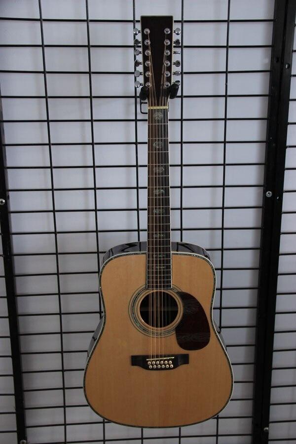 Livraison gratuite importation mart D450 12 cordes guitare acoustique, fabriqué en chine guitare